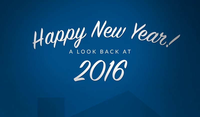 Happy New Year!A Look back at 2016